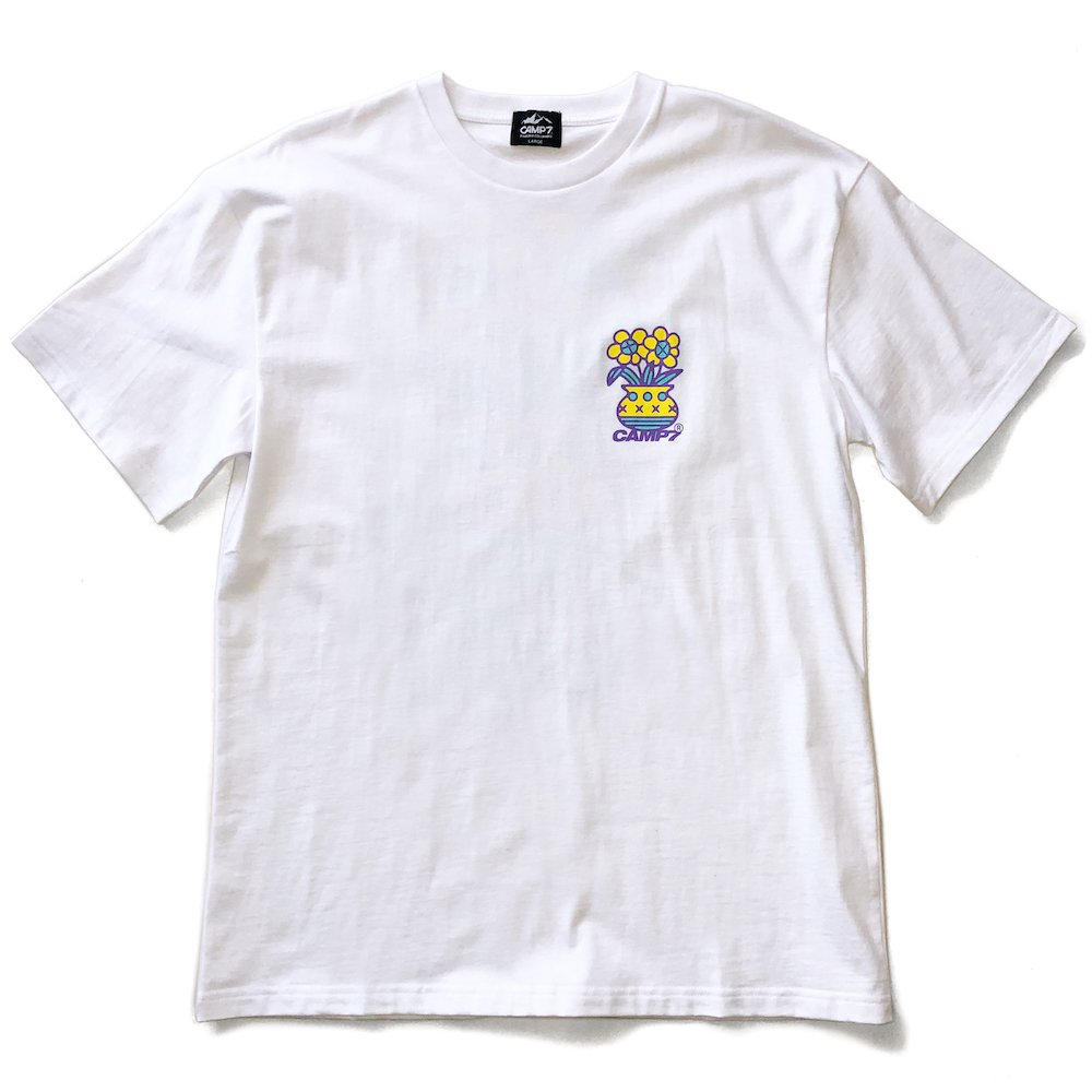 """ベンデイビス CAMP7【Naoki """"SAND"""" Yamamoto GRAPHIC S/S TEE】Naoki """"SAND"""" YamamotoグラフィックTシャツ(抗菌防臭・UVカット) 詳細画像6"""