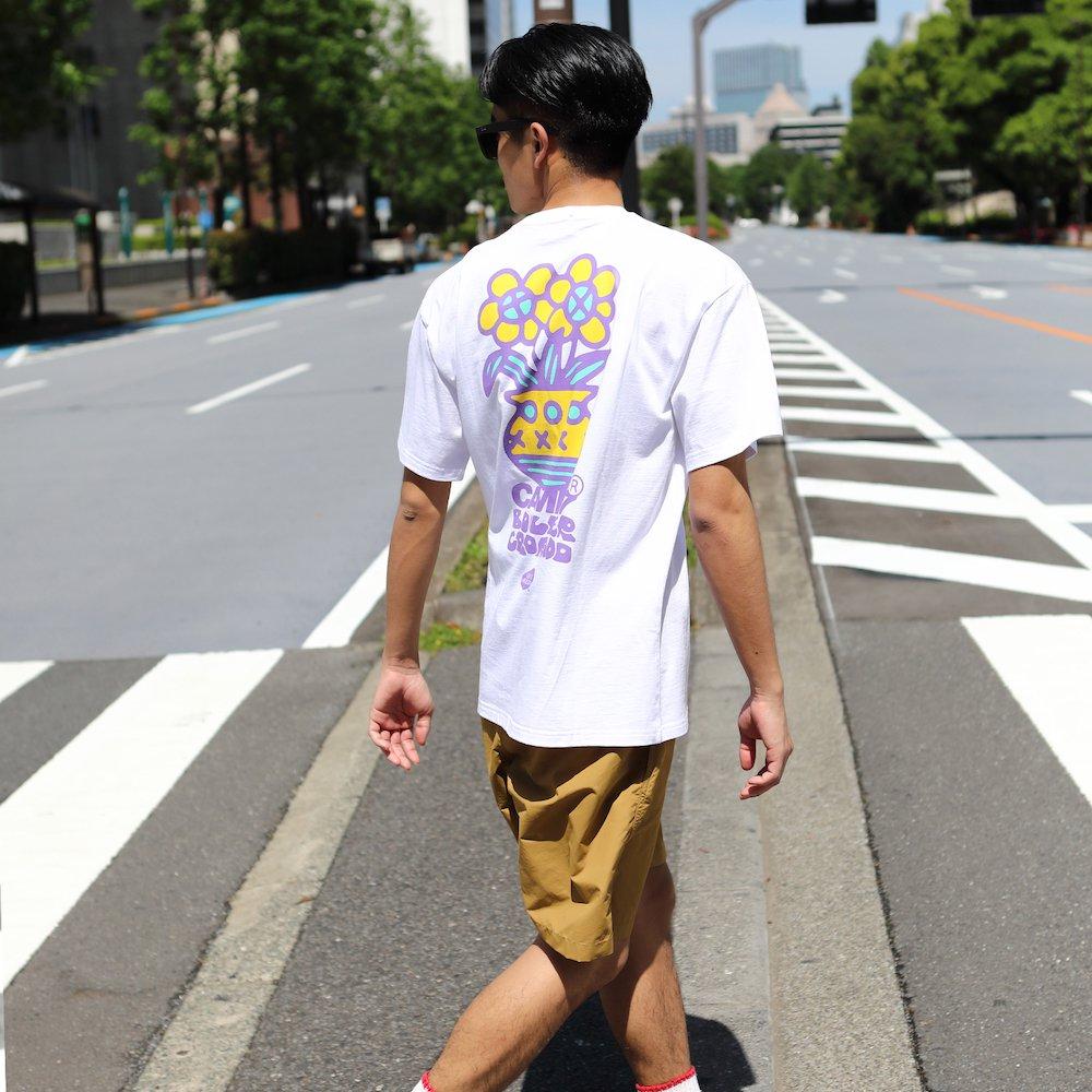 """ベンデイビス CAMP7【Naoki """"SAND"""" Yamamoto GRAPHIC S/S TEE】Naoki """"SAND"""" YamamotoグラフィックTシャツ(抗菌防臭・UVカット) 詳細画像7"""