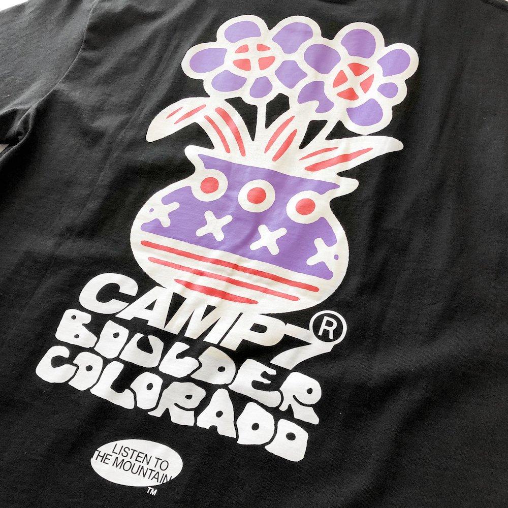 """ベンデイビス CAMP7【Naoki """"SAND"""" Yamamoto GRAPHIC S/S TEE】Naoki """"SAND"""" YamamotoグラフィックTシャツ(抗菌防臭・UVカット) 詳細画像9"""