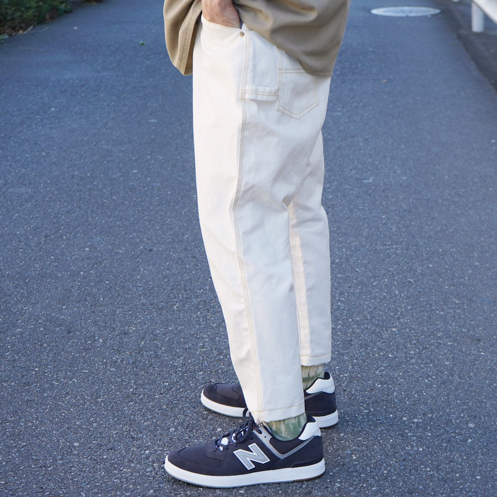【ANKLE LENGHTH PAINTER PANTS】アンクルレングスペインターパンツ