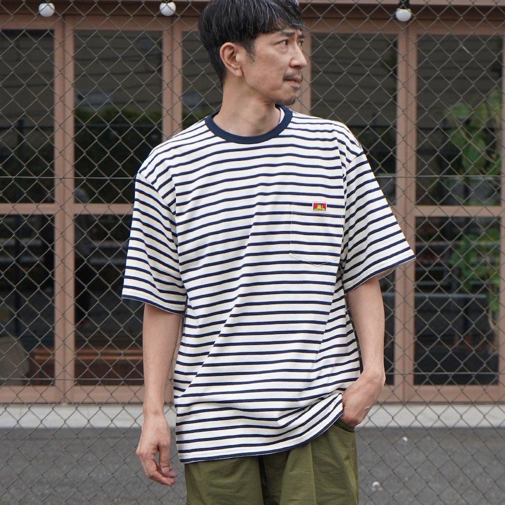 ベンデイビス 【BORDER POCKET TEE】ボーダーポケットTシャツ 詳細画像