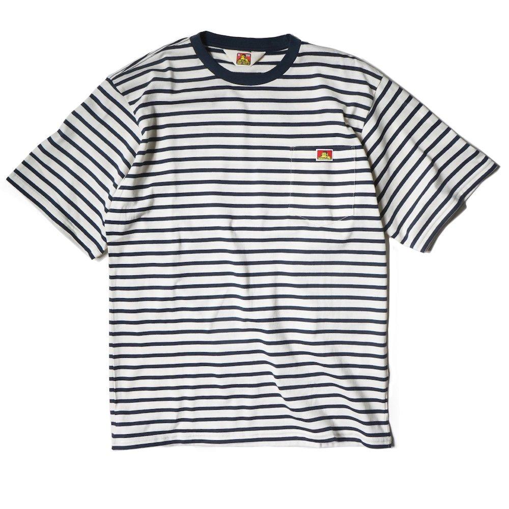 ベンデイビス 【BORDER POCKET TEE】ボーダーポケットTシャツ 詳細画像1