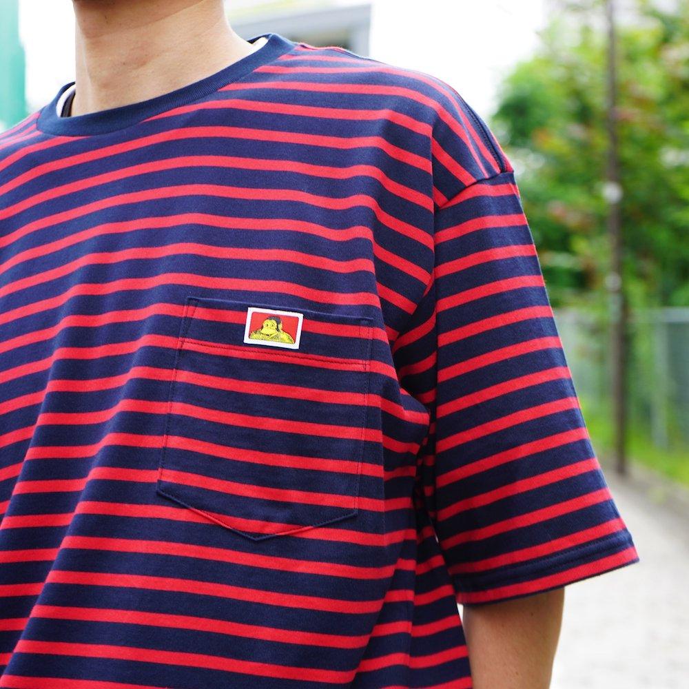 ベンデイビス 【BORDER POCKET TEE】ボーダーポケットTシャツ 詳細画像10