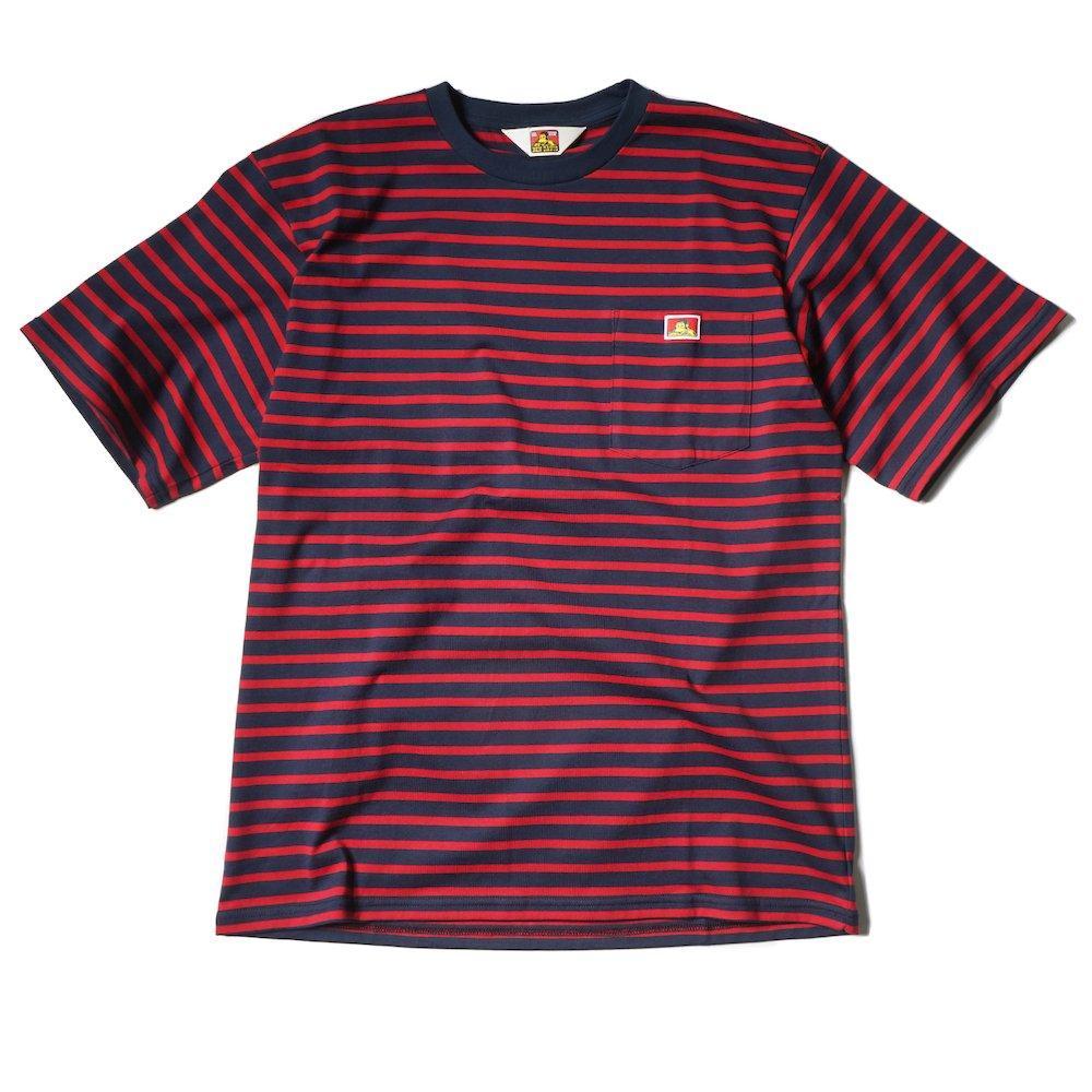 ベンデイビス 【BORDER POCKET TEE】ボーダーポケットTシャツ 詳細画像2