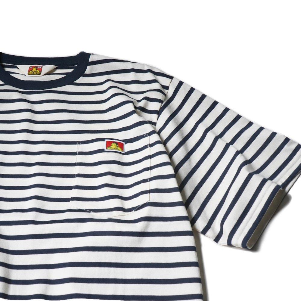 ベンデイビス 【BORDER POCKET TEE】ボーダーポケットTシャツ 詳細画像4
