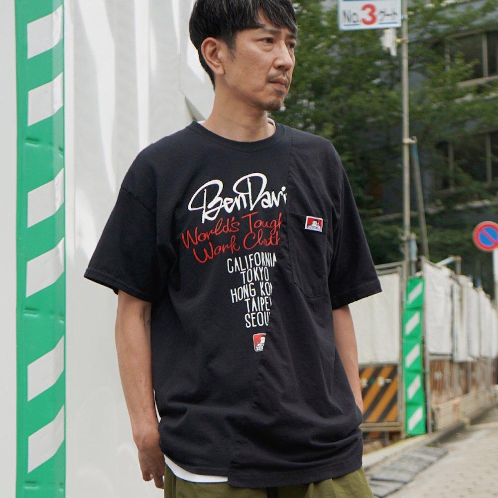 ベンデイビス 【HEAVY DUTY REMAKE POCKET TEE】ヘビーデューティーポケットTシャツ 詳細画像