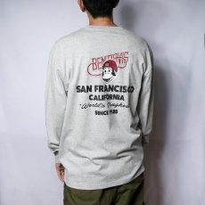 【Icon PRINT LONG TEE】アイコン長袖Tシャツ
