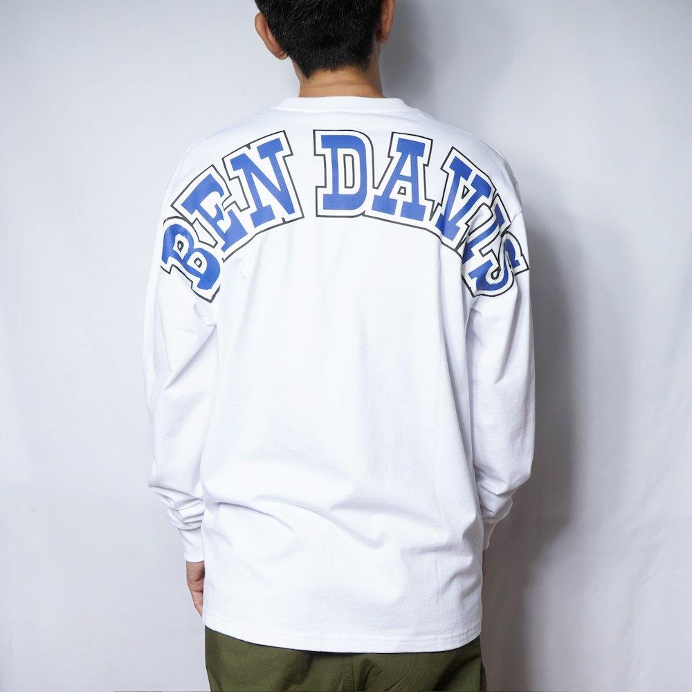 ベンデイビス 【Arch logo PRINT LONG TEE】アーチロゴ長袖Tシャツ 詳細画像
