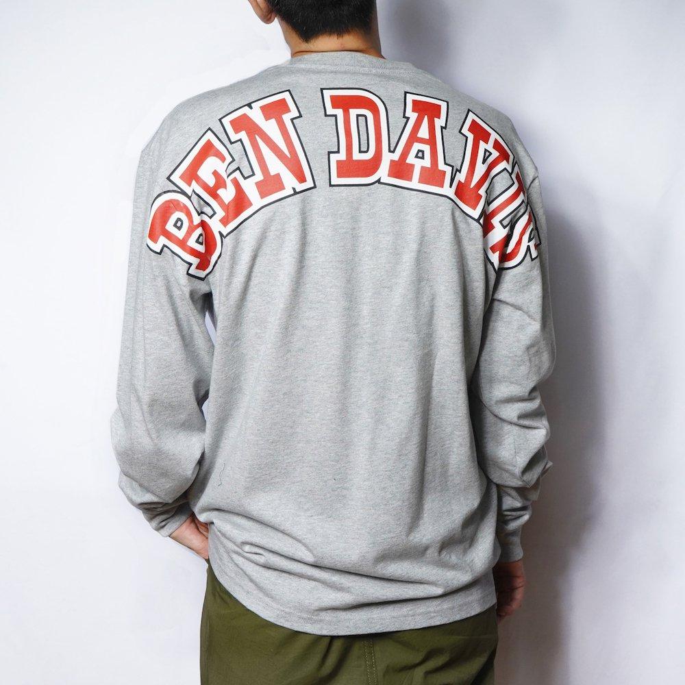 ベンデイビス 【Arch logo PRINT LONG TEE】アーチロゴ長袖Tシャツ 詳細画像1
