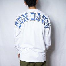 【Arch logo PRINT LONG TEE】アーチロゴ長袖Tシャツ