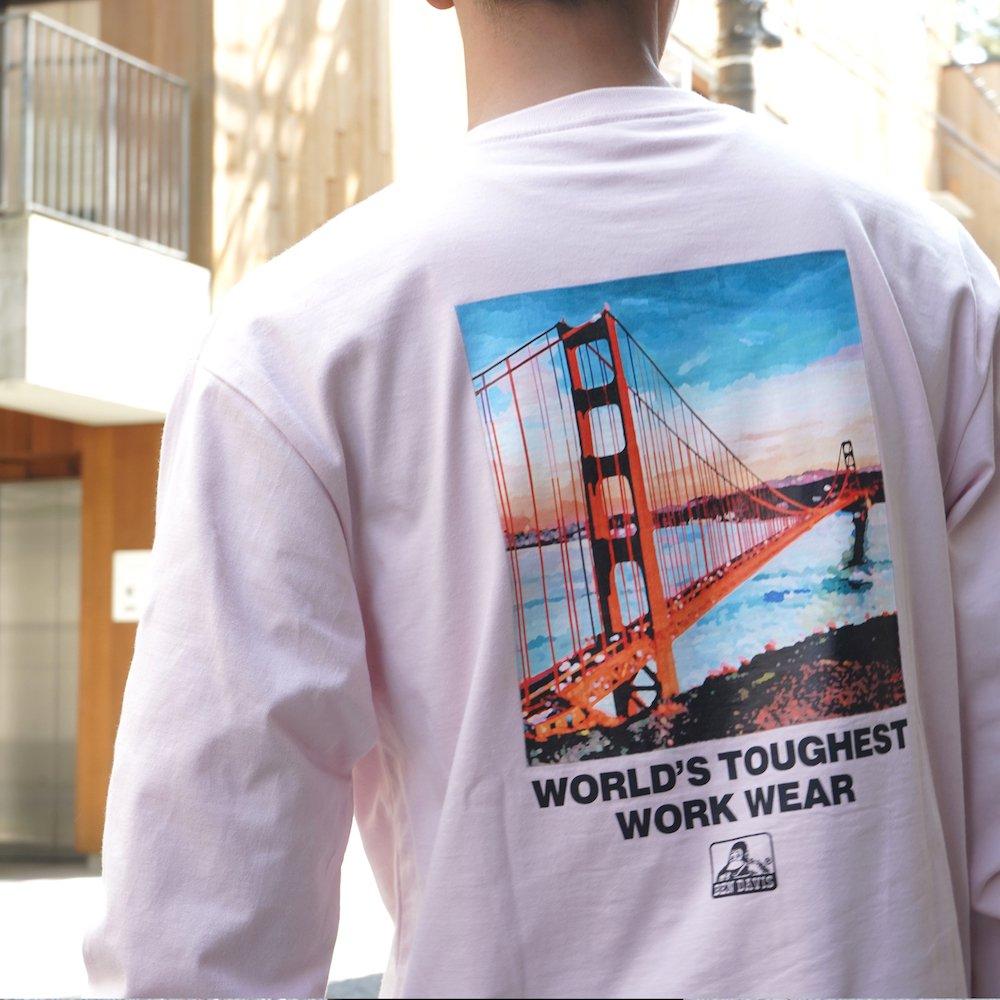 ベンデイビス 【Bridge photo LONG TEE】ブリッジフォト長袖Tシャツ 詳細画像