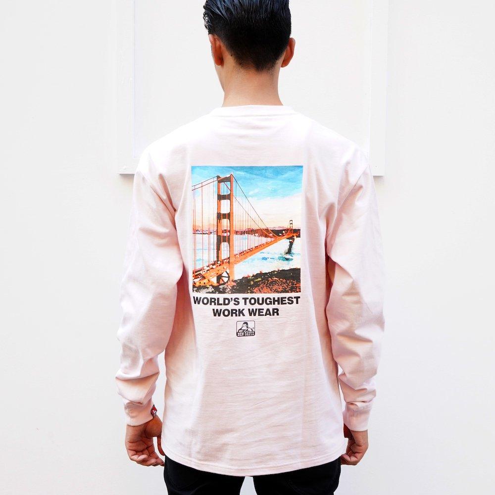 ベンデイビス 【Bridge photo LONG TEE】ブリッジフォト長袖Tシャツ 詳細画像1