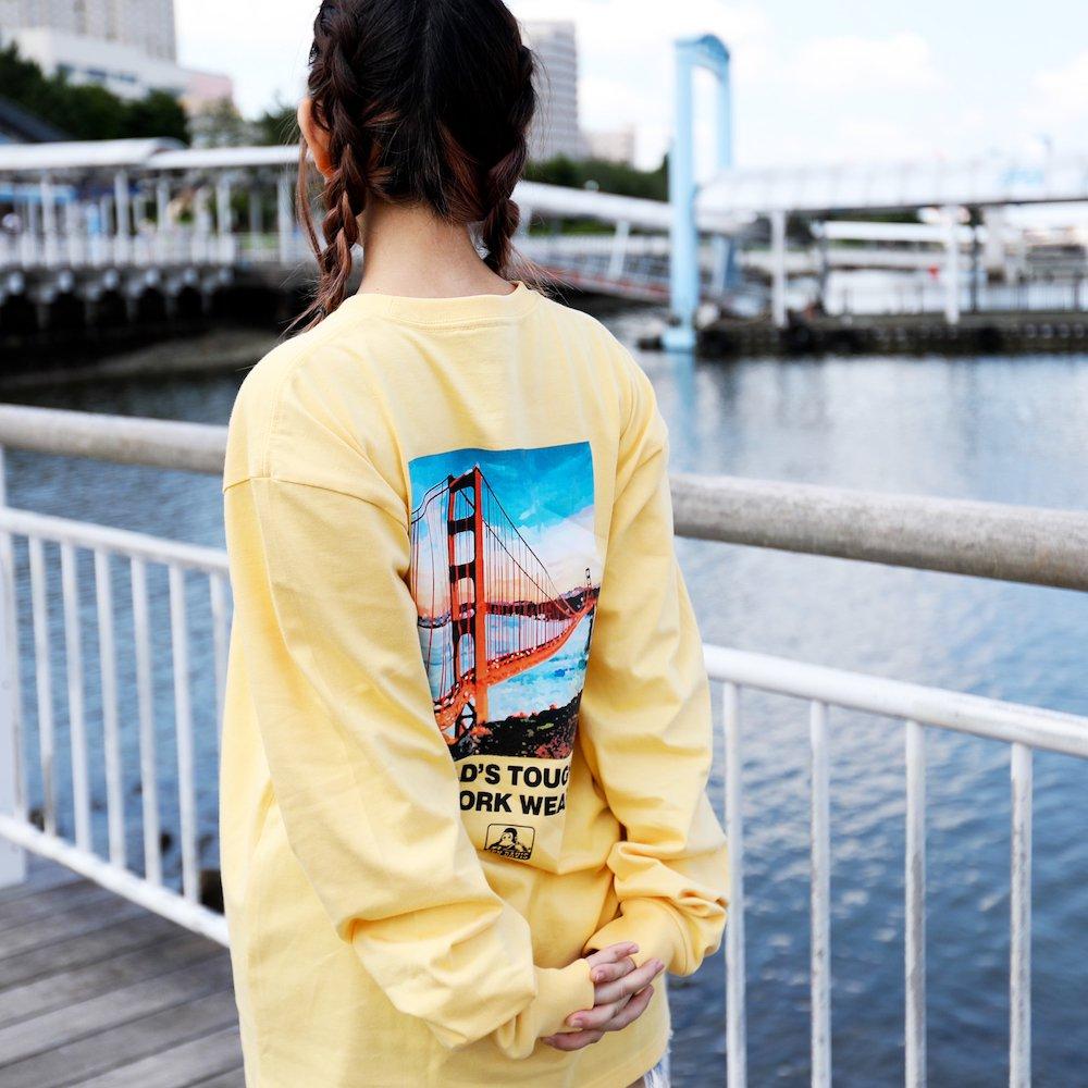 ベンデイビス 【Bridge photo LONG TEE】ブリッジフォト長袖Tシャツ 詳細画像2