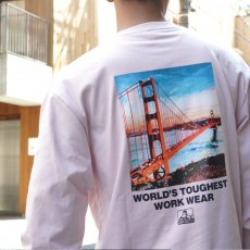 【Bridge photo LONG TEE】ブリッジフォト長袖Tシャツ