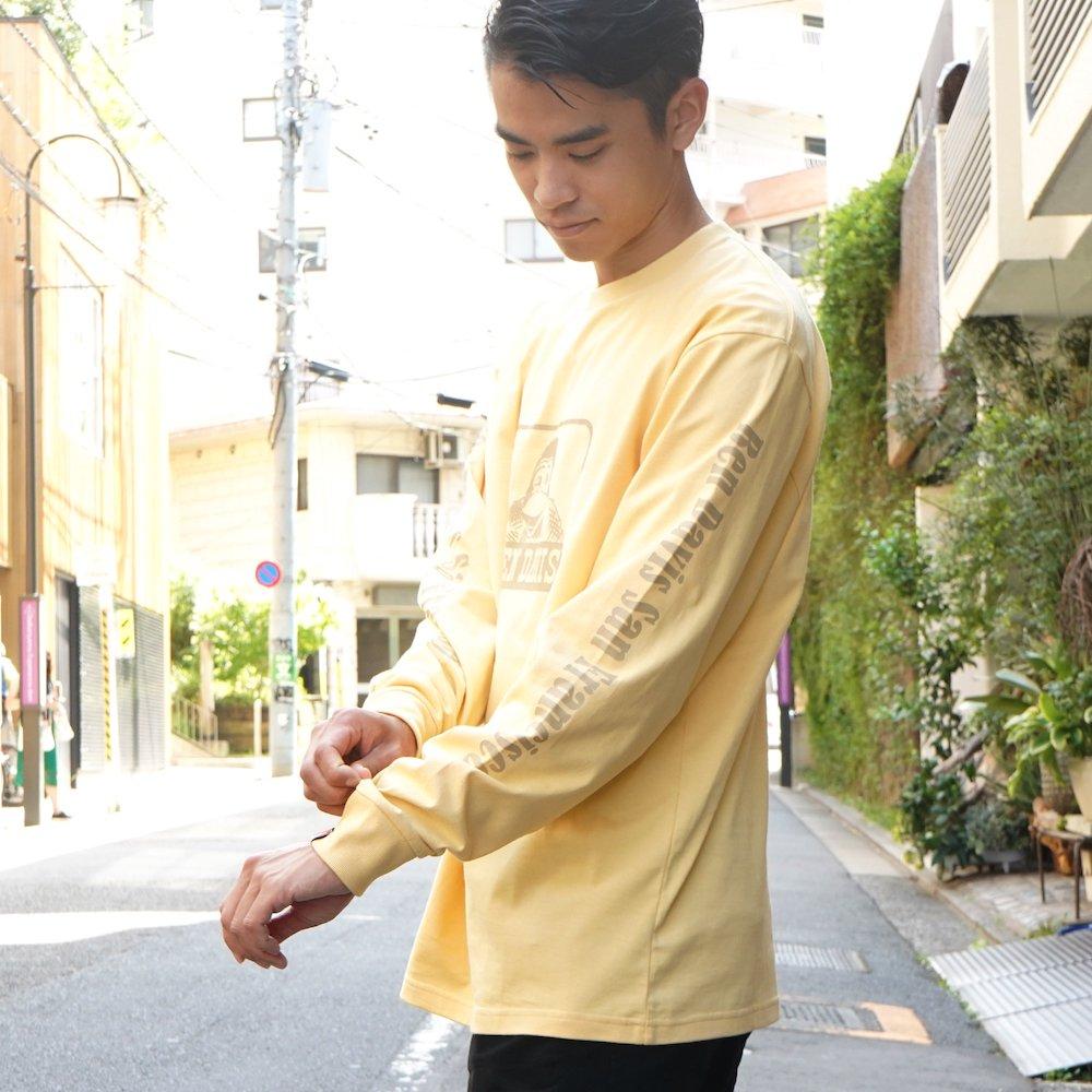 ベンデイビス 【Logo PRINT LONG TEE】ロゴプリント長袖Tシャツ 詳細画像5