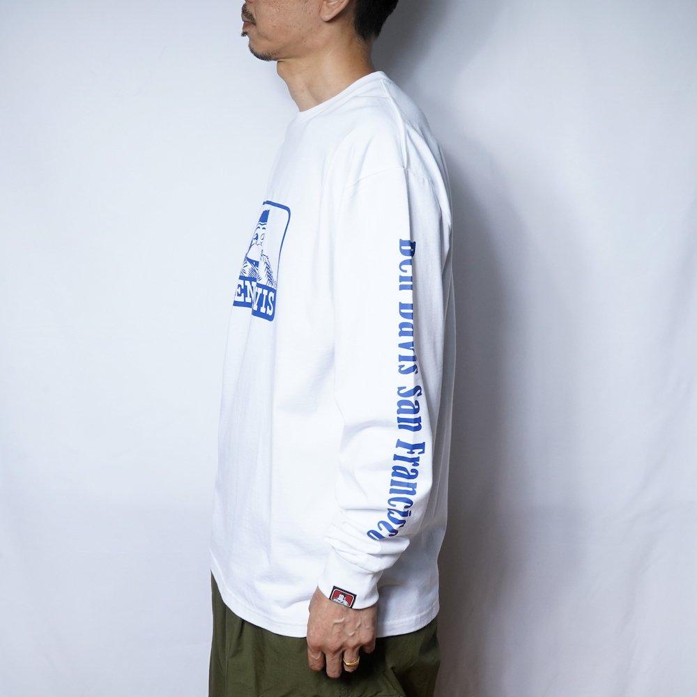 ベンデイビス 【Logo PRINT LONG TEE】ロゴプリント長袖Tシャツ 詳細画像6