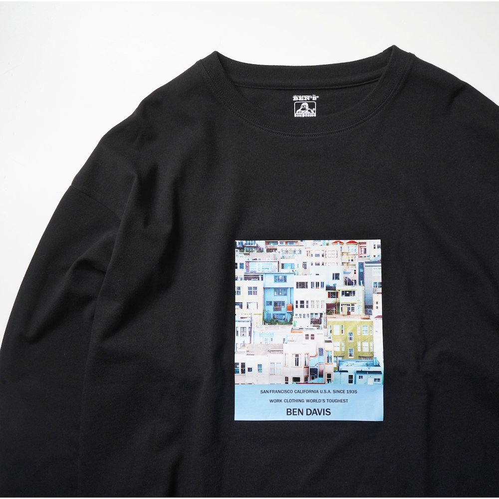 ベンデイビス 【PHOTO L/S TEE Ladies】フォト長袖Tシャツ(レディース) 詳細画像3
