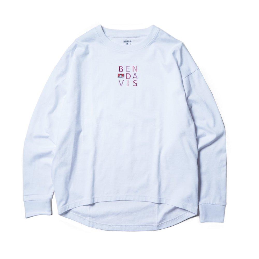 ベンデイビス 【EMBRO L/S TEE Ladies】刺繍長袖Tシャツ(レディース) 詳細画像