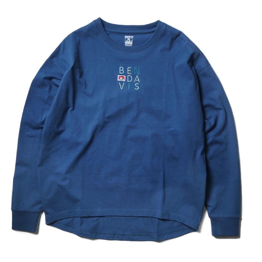 ベンデイビス 【EMBRO L/S TEE Ladies】刺繍長袖Tシャツ(レディース) 詳細画像1
