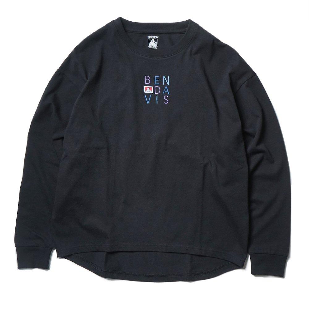 ベンデイビス 【EMBRO L/S TEE Ladies】刺繍長袖Tシャツ(レディース) 詳細画像2