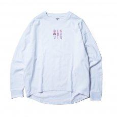 【EMBRO L/S TEE Ladies】刺繍長袖Tシャツ(レディース)