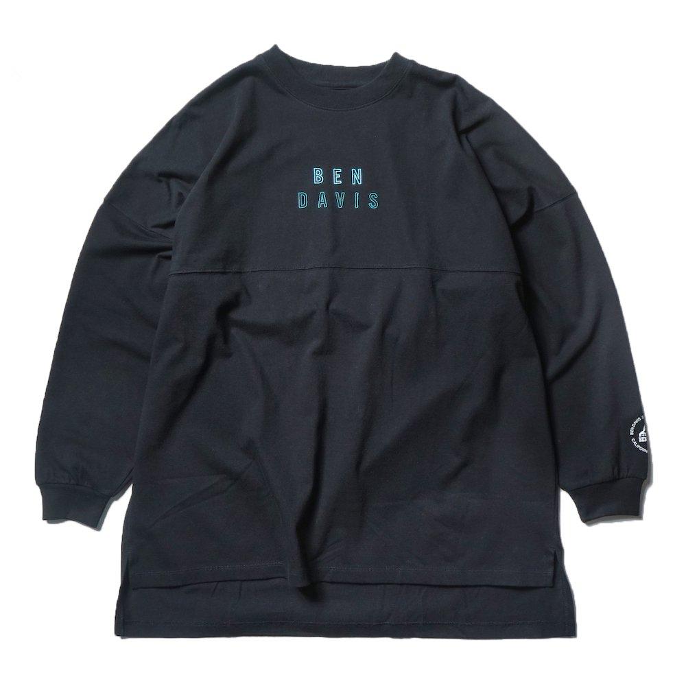 ベンデイビス 【EMBROIDERY BIG SIZING L/S TEE ladies】刺繍ビッグサイズ長袖Tシャツ(レディース) 詳細画像1