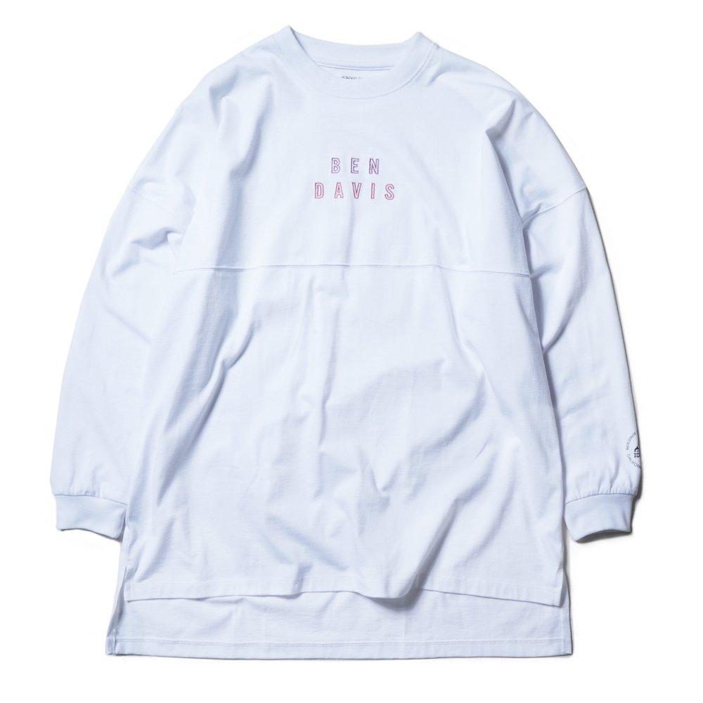 ベンデイビス 【EMBROIDERY BIG SIZING L/S TEE ladies】刺繍ビッグサイズ長袖Tシャツ(レディース) 詳細画像3