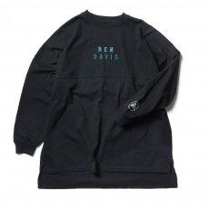 【EMBROIDERY BIG SIZING L/S TEE ladies】刺繍ビッグサイズ長袖Tシャツ(レディース)