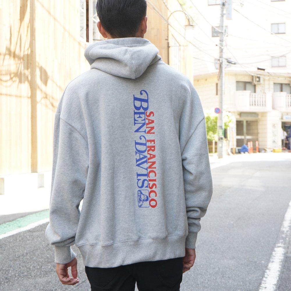 ベンデイビス 【PRINT SWEAT HOODIE】プリントスウェットフーディー 詳細画像9