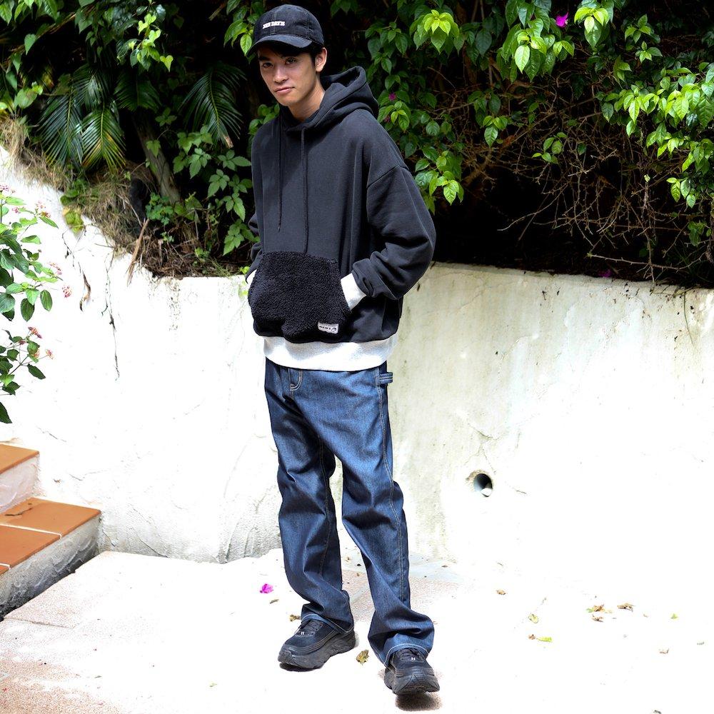 ベンデイビス 【PK FUR SWEAT HOODIE】ポケットファースウェットフーディー 詳細画像6