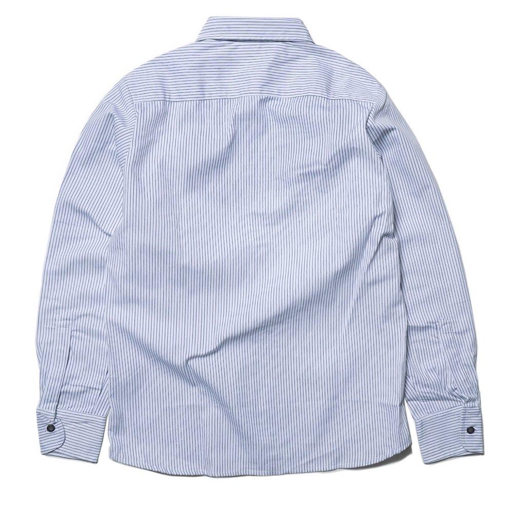 ベンデイビス BEN DAVIS USA【PIN STRIPE WORK SHIRTS】ピンストライプワークシャツ 詳細画像1