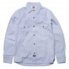 BEN DAVIS USA【PIN STRIPE WORK SHIRTS】ピンストライプワークシャツ
