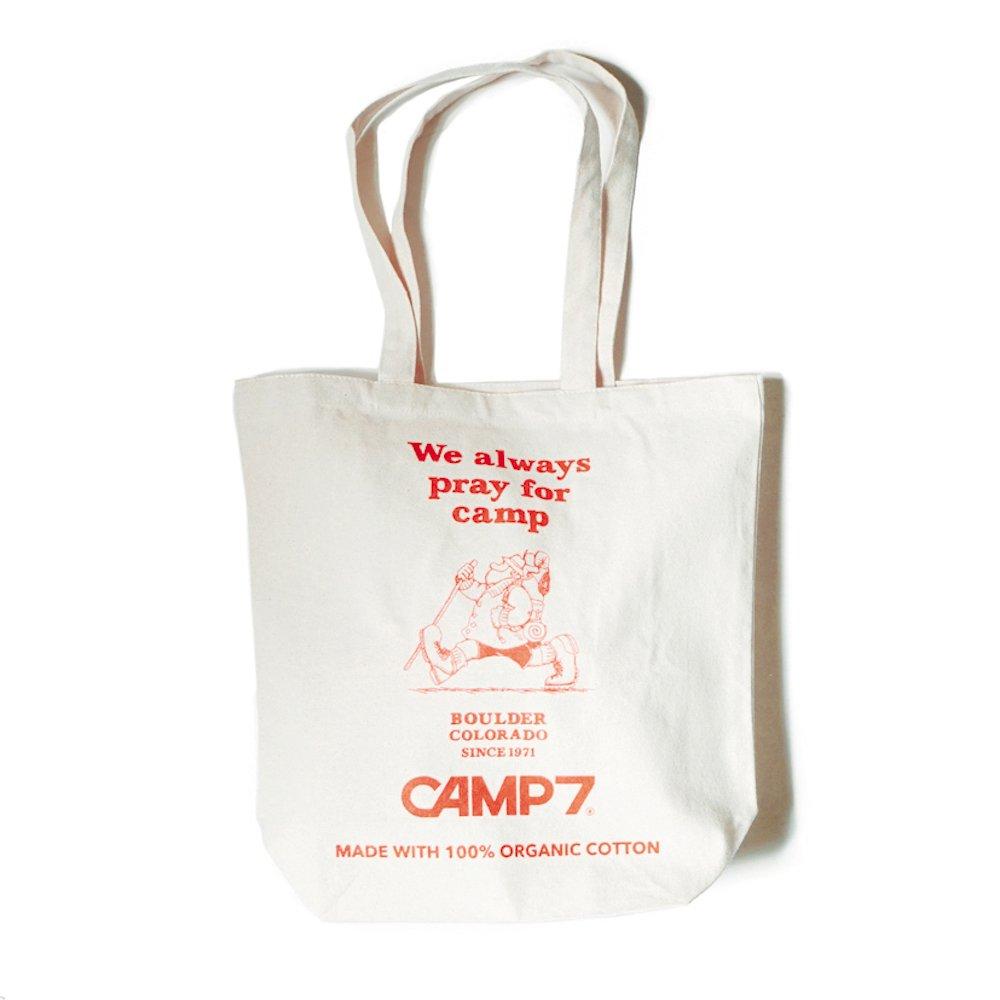 ベンデイビス CAMP7 キャンプセブン【ORGANIC CANVAS TOTE】オーガニックキャンバストート 詳細画像2