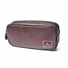 <img class='new_mark_img1' src='https://img.shop-pro.jp/img/new/icons12.gif' style='border:none;display:inline;margin:0px;padding:0px;width:auto;' />【VEGAN LEATHER PEN CASE】ヴィーガンレザーペンケース(合皮)