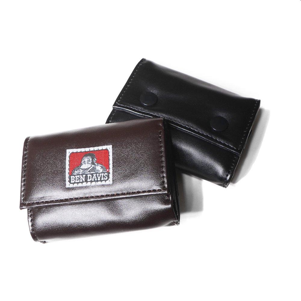 ベンデイビス 【VEGAN LEATHER CARD MINI WALLET】ヴィーガンレザーカードミニ財布(合皮) 詳細画像3