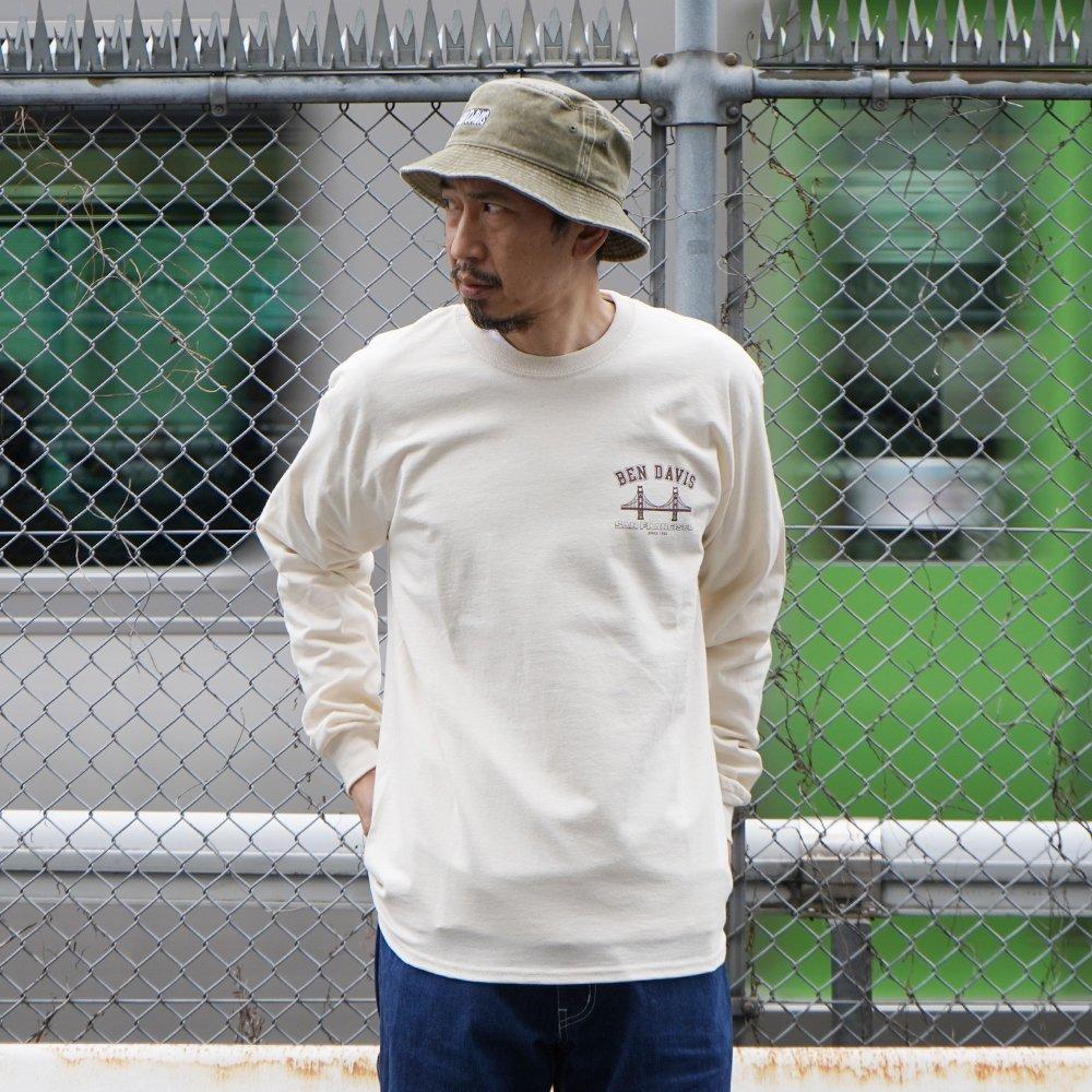 ベンデイビス 【PRINT LONG SLEEVE】プリント長袖Tシャツ 詳細画像7