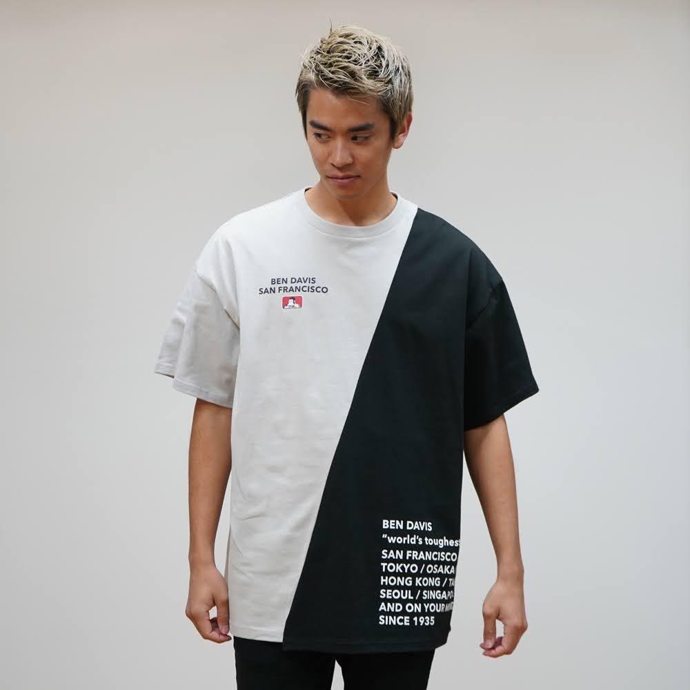 ベンデイビス 【RE-MAKE DESIGN TEE】リメイクデザインTシャツ(抗菌防臭) 詳細画像1