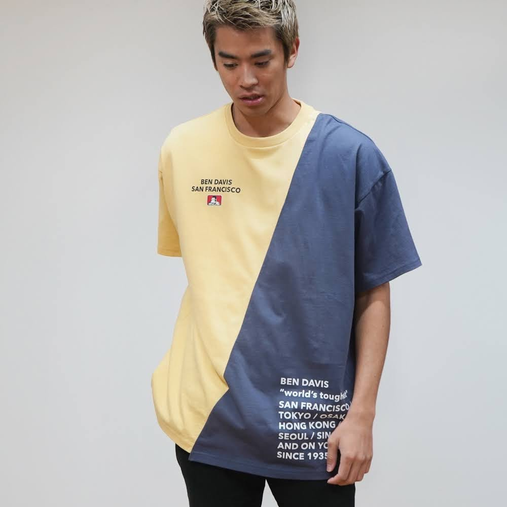 ベンデイビス 【RE-MAKE DESIGN TEE】リメイクデザインTシャツ(抗菌防臭) 詳細画像2