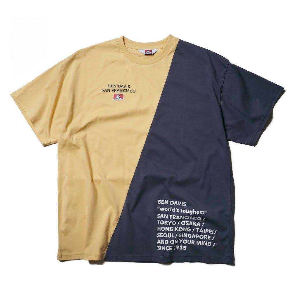 ベンデイビス 【RE-MAKE DESIGN TEE】リメイクデザインTシャツ(抗菌防臭) 詳細画像5