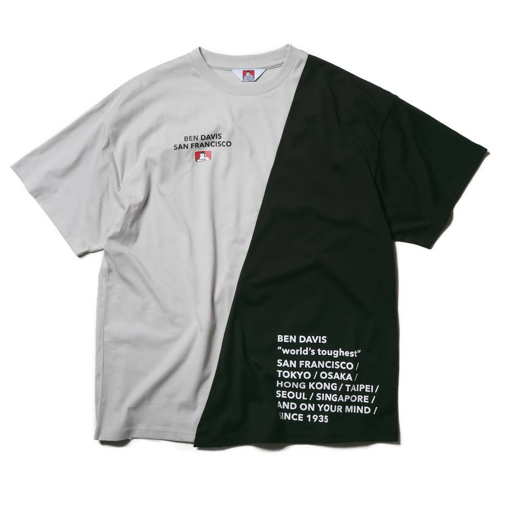 ベンデイビス 【RE-MAKE DESIGN TEE】リメイクデザインTシャツ(抗菌防臭) 詳細画像6