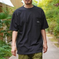 【EMBROIDERY POCKET TEE】刺繍ポケットTシャツ(抗菌防臭)