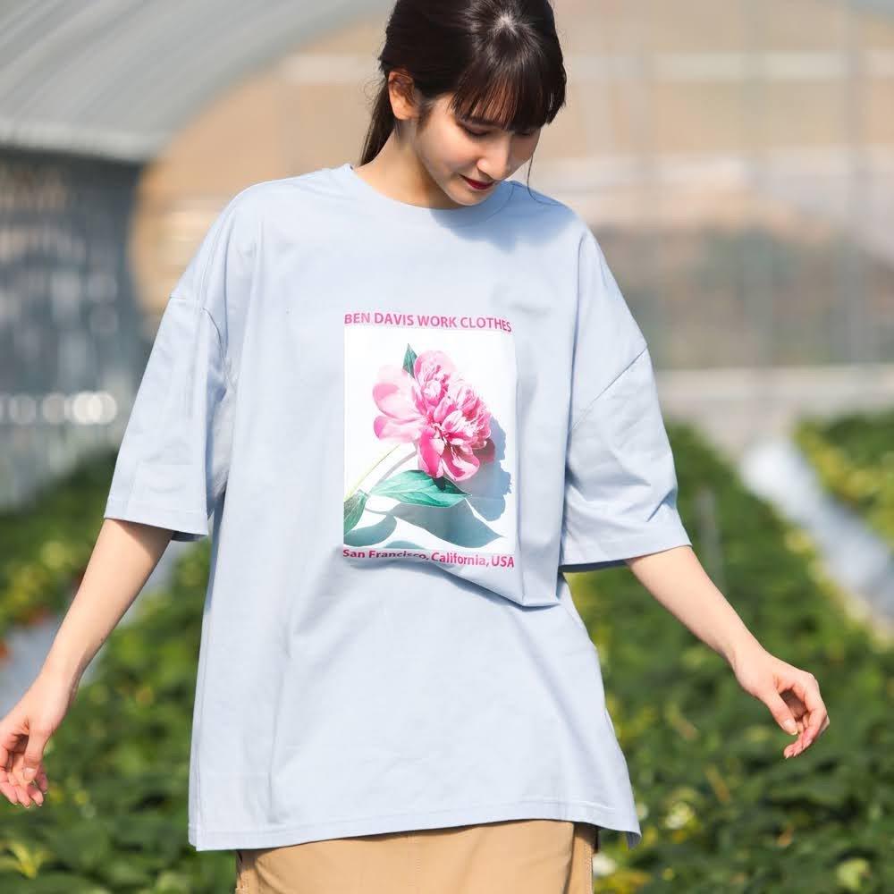 ベンデイビス 【LADIES ORGANIC COTTON TEE】レディースオーガニックコットンTシャツ(抗菌防臭) 詳細画像
