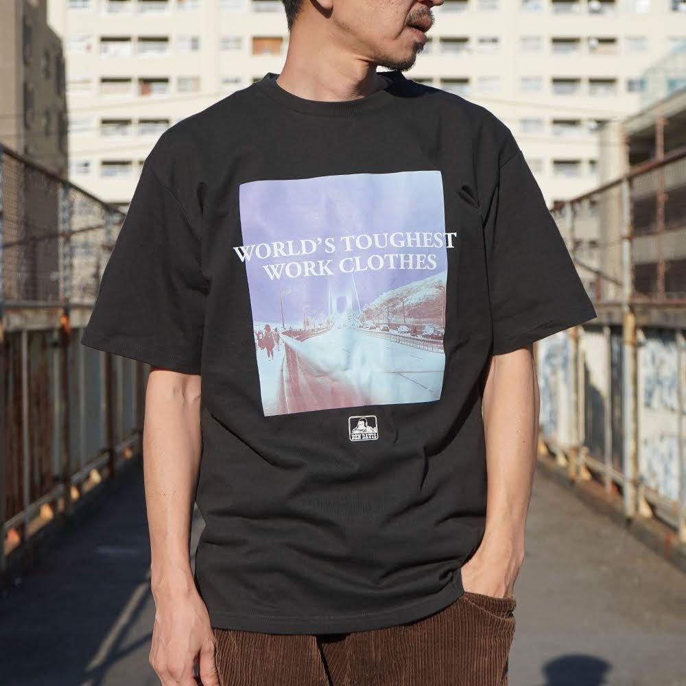ベンデイビス 【PRINT TEE】プリントTシャツ(抗菌防臭) 詳細画像