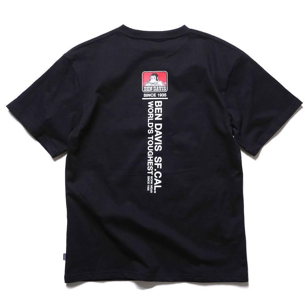 ベンデイビス 【PRINT TEE】プリントTシャツ(抗菌防臭) 詳細画像7