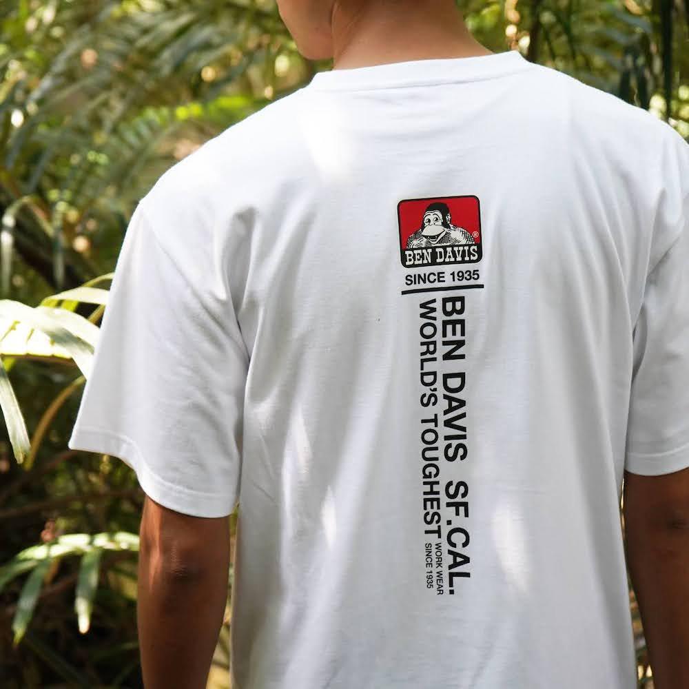 ベンデイビス 【PRINT TEE】プリントTシャツ(抗菌防臭) 詳細画像9