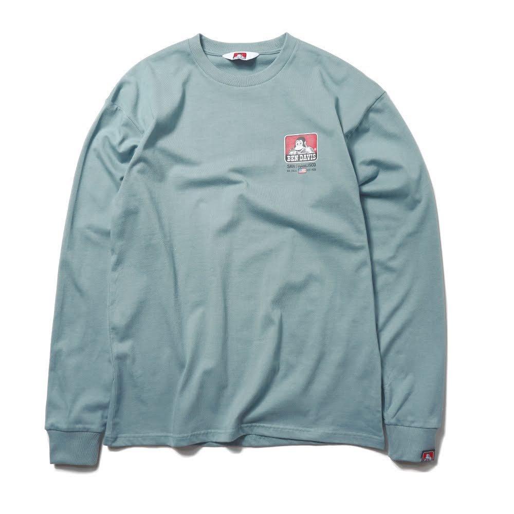 ベンデイビス BDZ1-1011【PRINT LONG SLEEVE - big print】プリント長袖Tシャツ 詳細画像3
