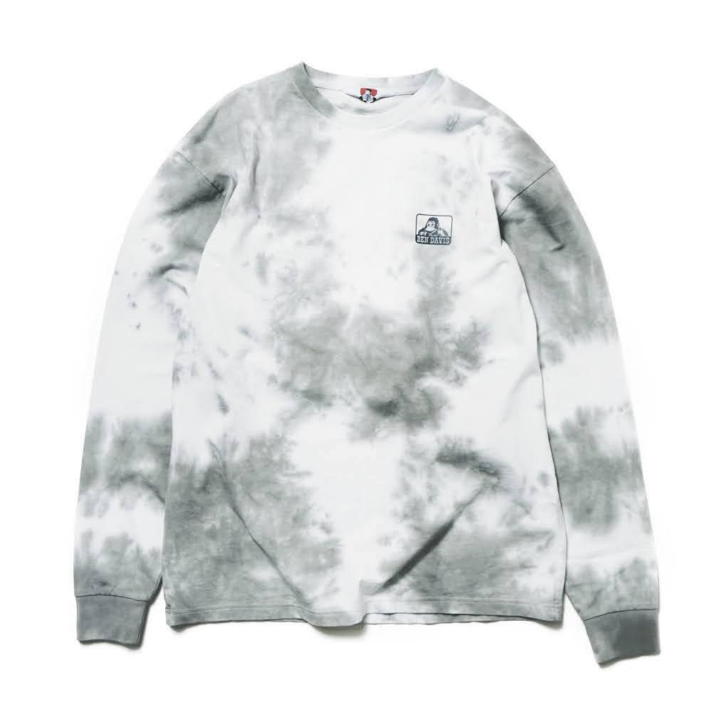 ベンデイビス BDZ1-1012【PRINT LONG SLEEVE - tie dye】プリント長袖Tシャツ 詳細画像2