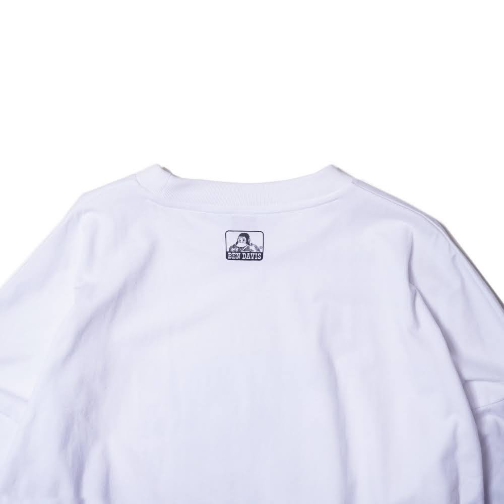 ベンデイビス 【LADIES PRINT LONG TEE】レディースプリント長袖Tシャツ 詳細画像4