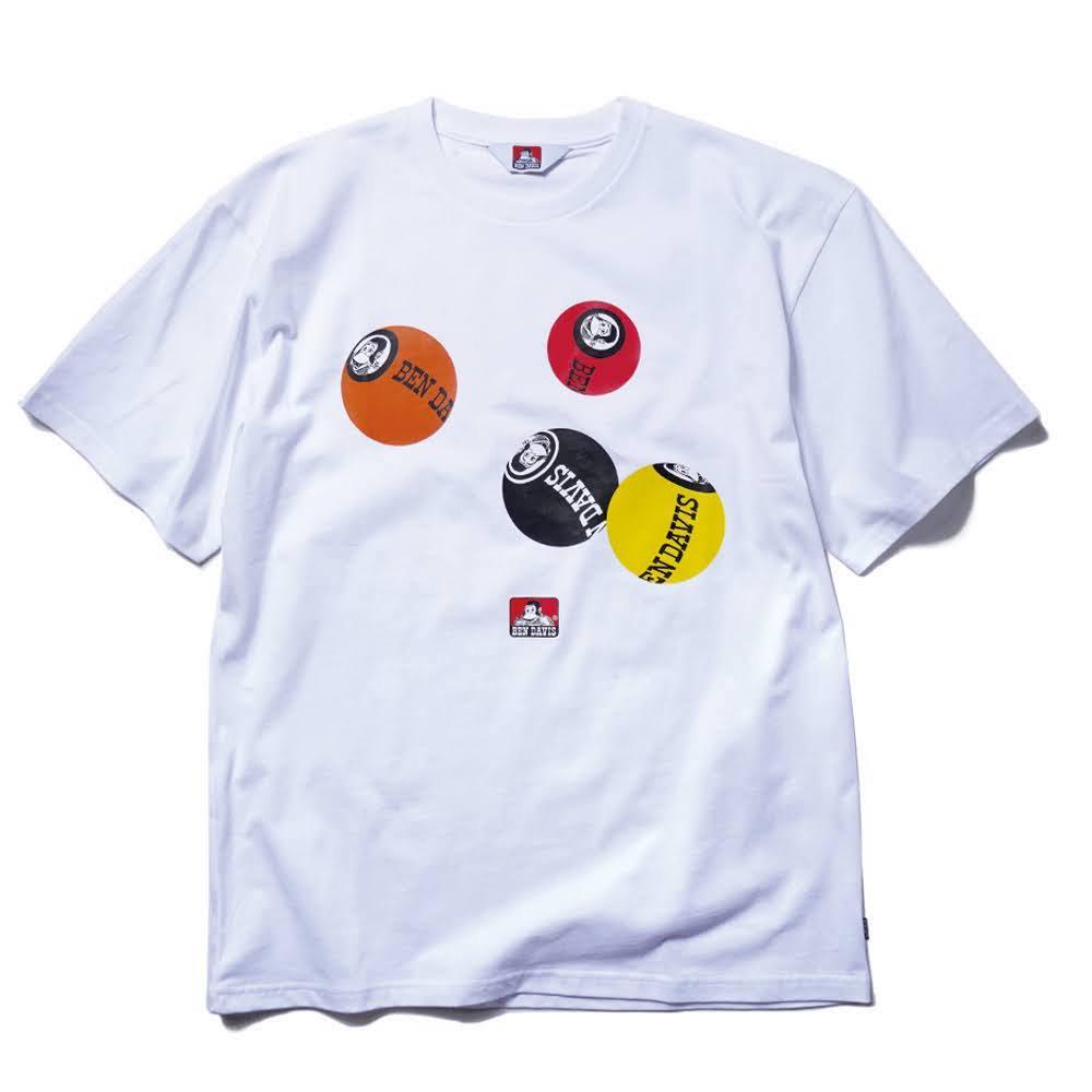 ベンデイビス 21FW【PRINT TEE】プリントTシャツ(抗菌防臭) 詳細画像1