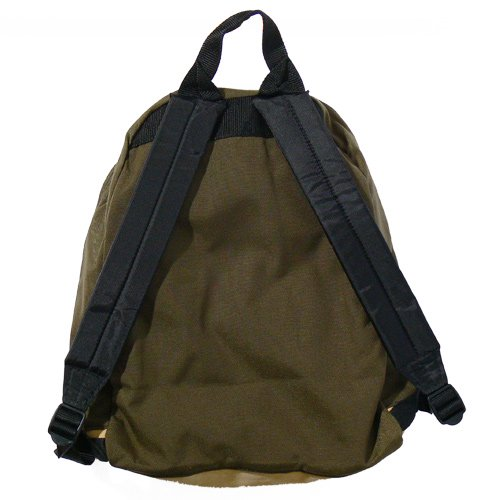 OUTDOOR PRODUCTS LEATHER BOTTOM BACK PACK/Made in USA (KH)